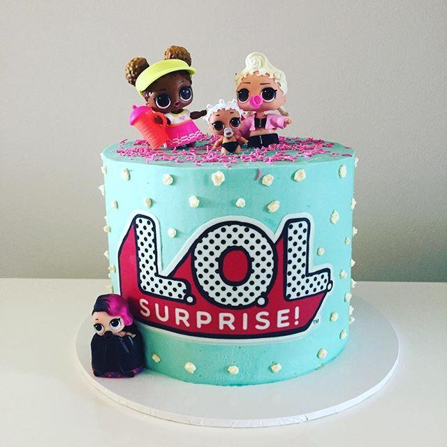 Lol Surprise Doll Birthday Cake