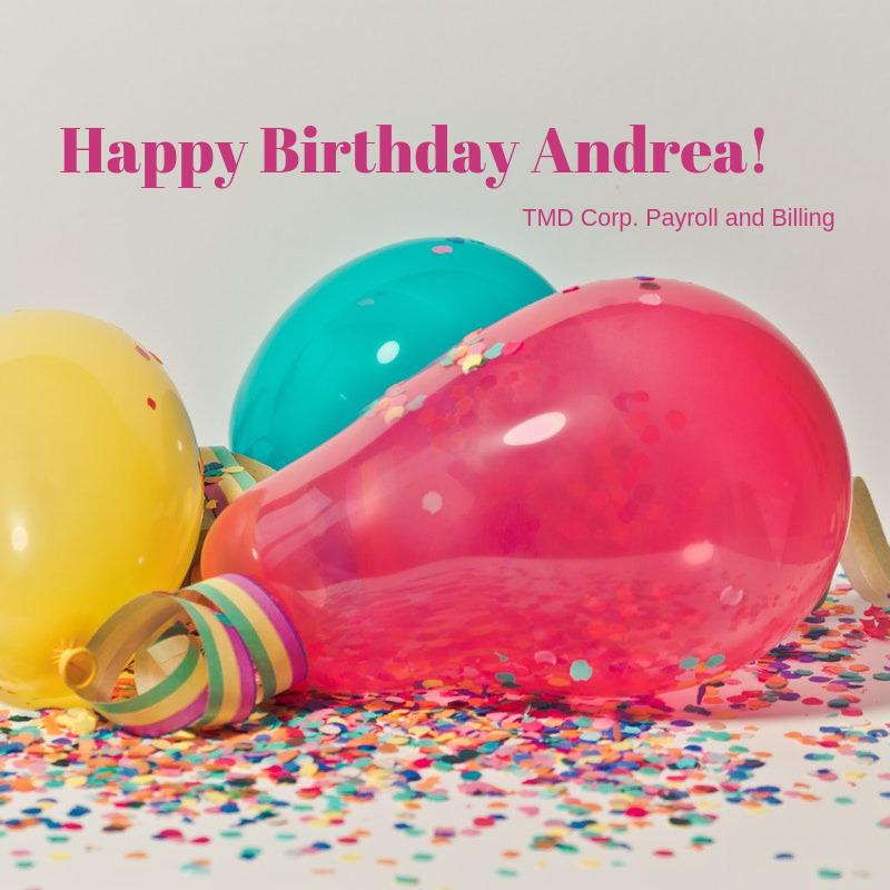 Wishing Andrea D A Very Happy Birthday Enjoy Very Happy