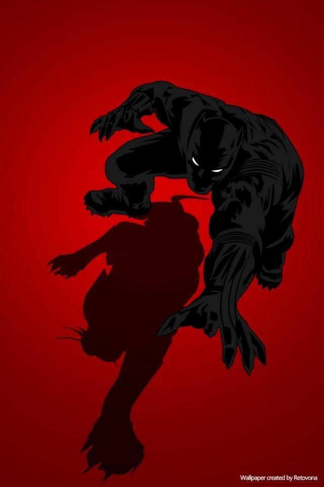 Black Panther Marvel Iphone Wallpaper Hqfx Black Panther Marvel