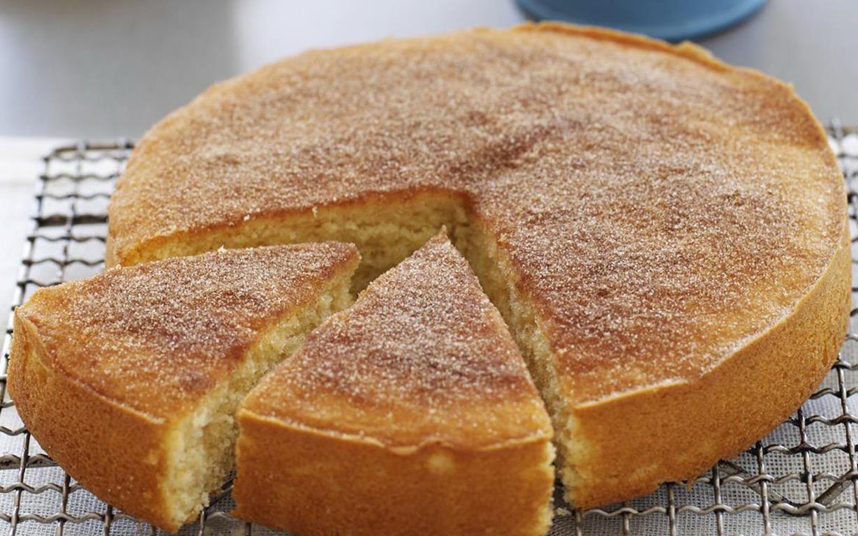 Best Cinnamon Tea Cake
