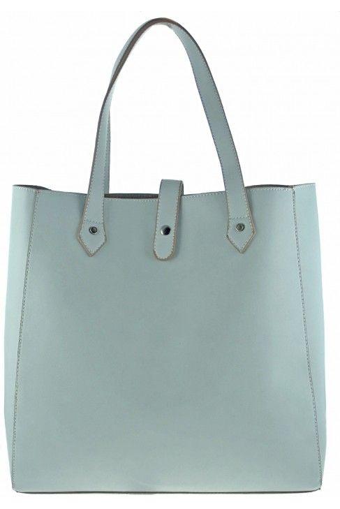 Torebka David Jones Shopper Bag Blekitny Pastelowy Shopper Bag Bags Tote Bag