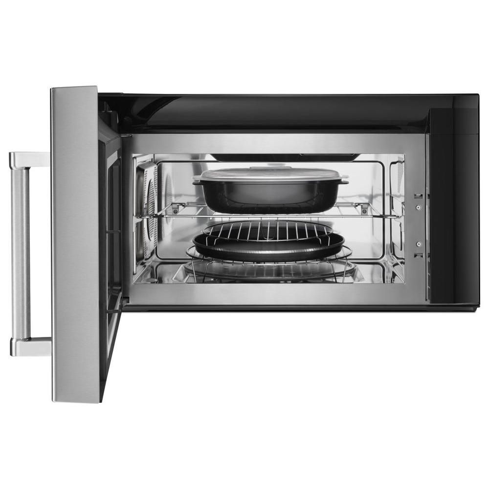 Kitchenaid 19 cu ft over the range convection microwave