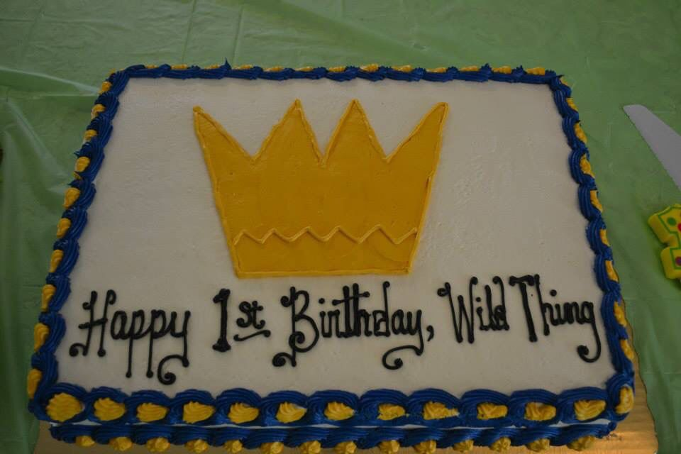 Where the Wild Things Are - Free smash cake from Publix when you ...