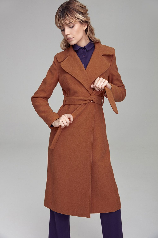 Plaszcz Damski Model Cpl02 Honey Colett Coat Fashion Clothes