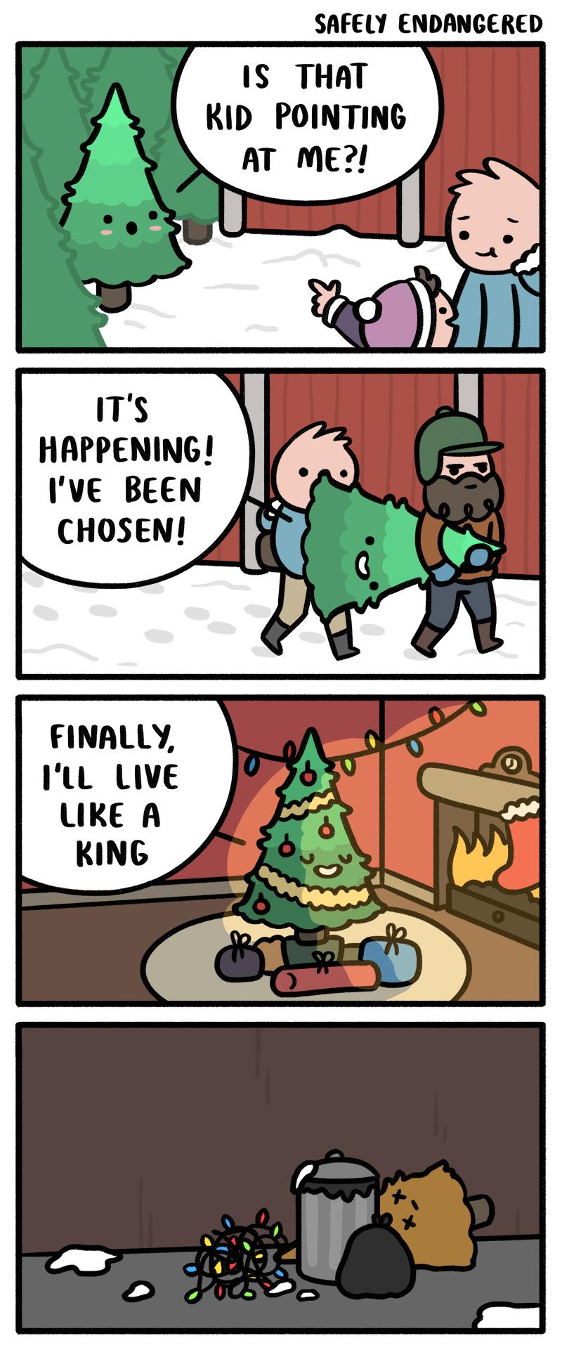 The Happy Christmas Tree Funny cartoons, Funny photo
