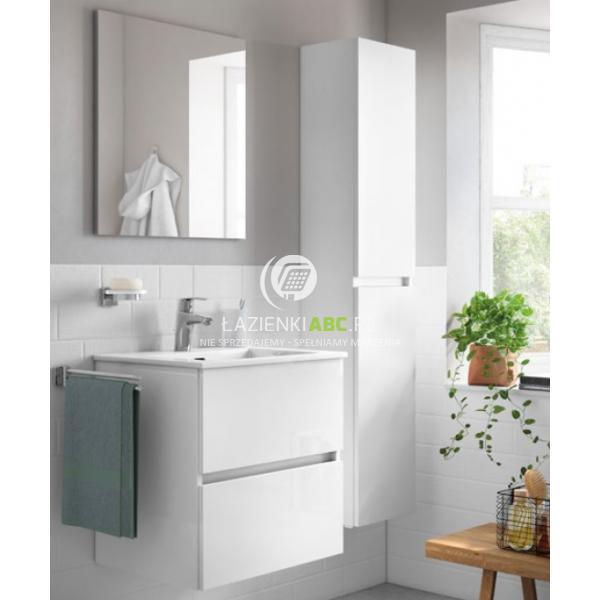 Roca Zestaw Lazienkowy Z Umywalka 55 Cm Cube Unik 55 A85119a806 Small Bathroom Cube Bathroom Vanity