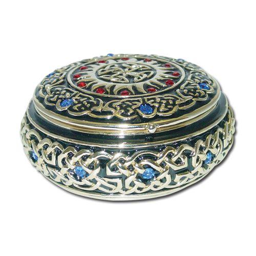 Round Celtic Jewelry Box Things I like Pinterest Rounding