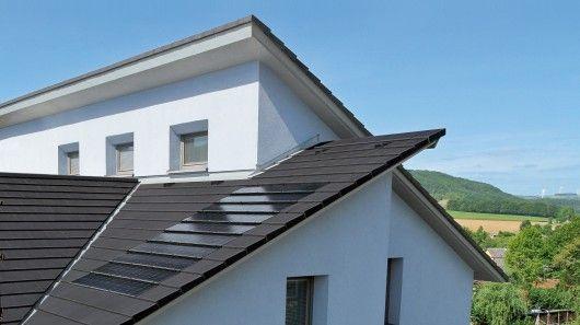 Stafier S Solar Roof Tiles Appear Wafier Thin Solar Tiles Solar Roof Tiles Solar Roof