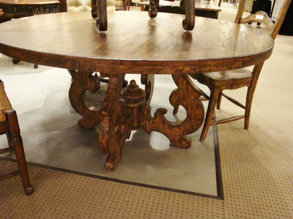 Tuscany French Country 60 Round Dining Table Cambridge Rustic