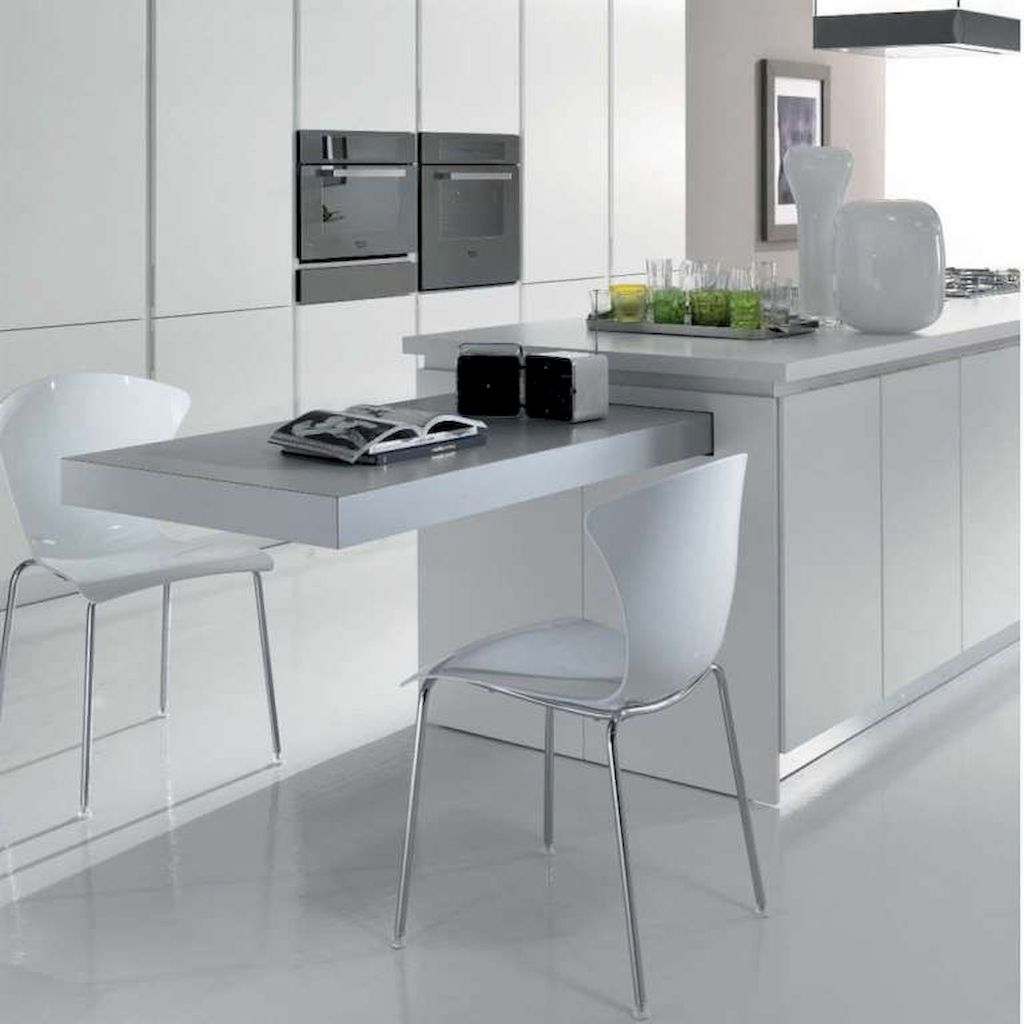 Stunning Small Island Kitchen Table Ideas Home To Z Kitchen Island Table Kitchen Design Kitchen Design Small