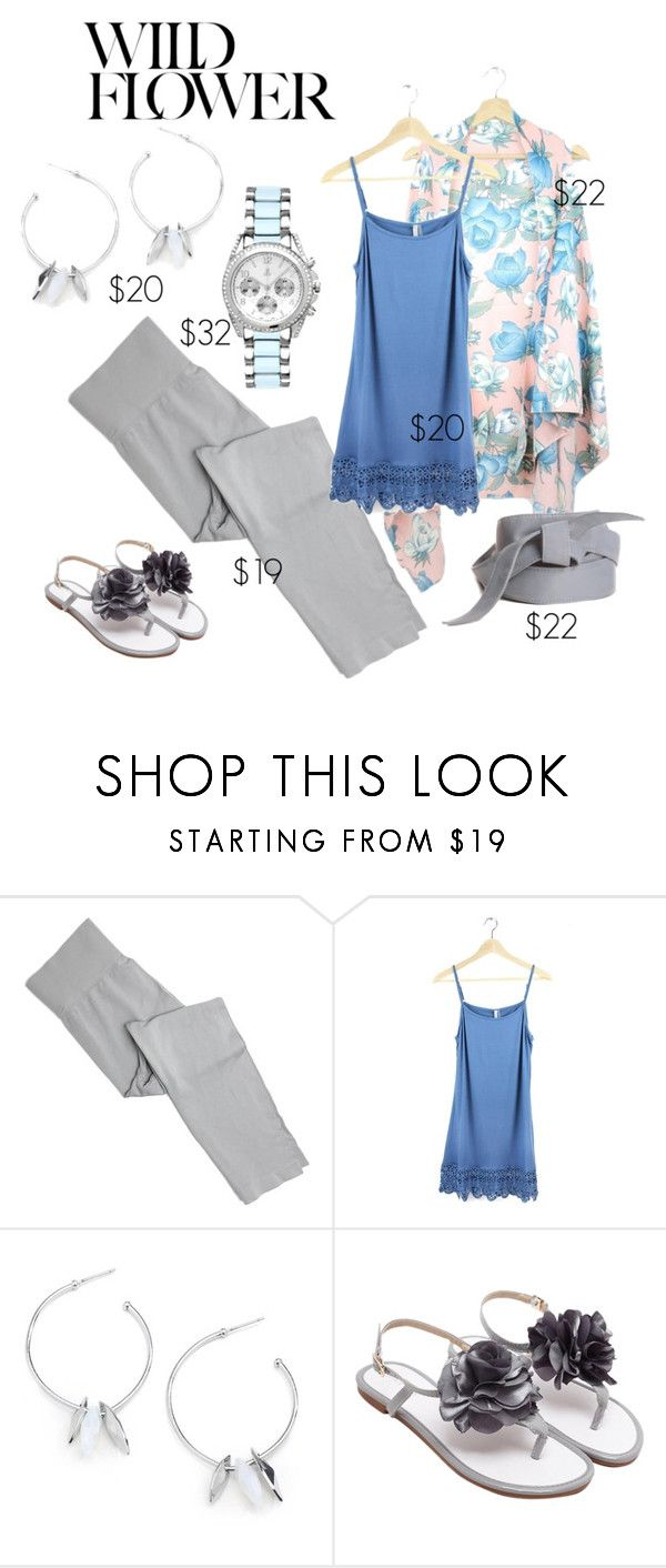Wild Flower by maria-himes on Polyvore