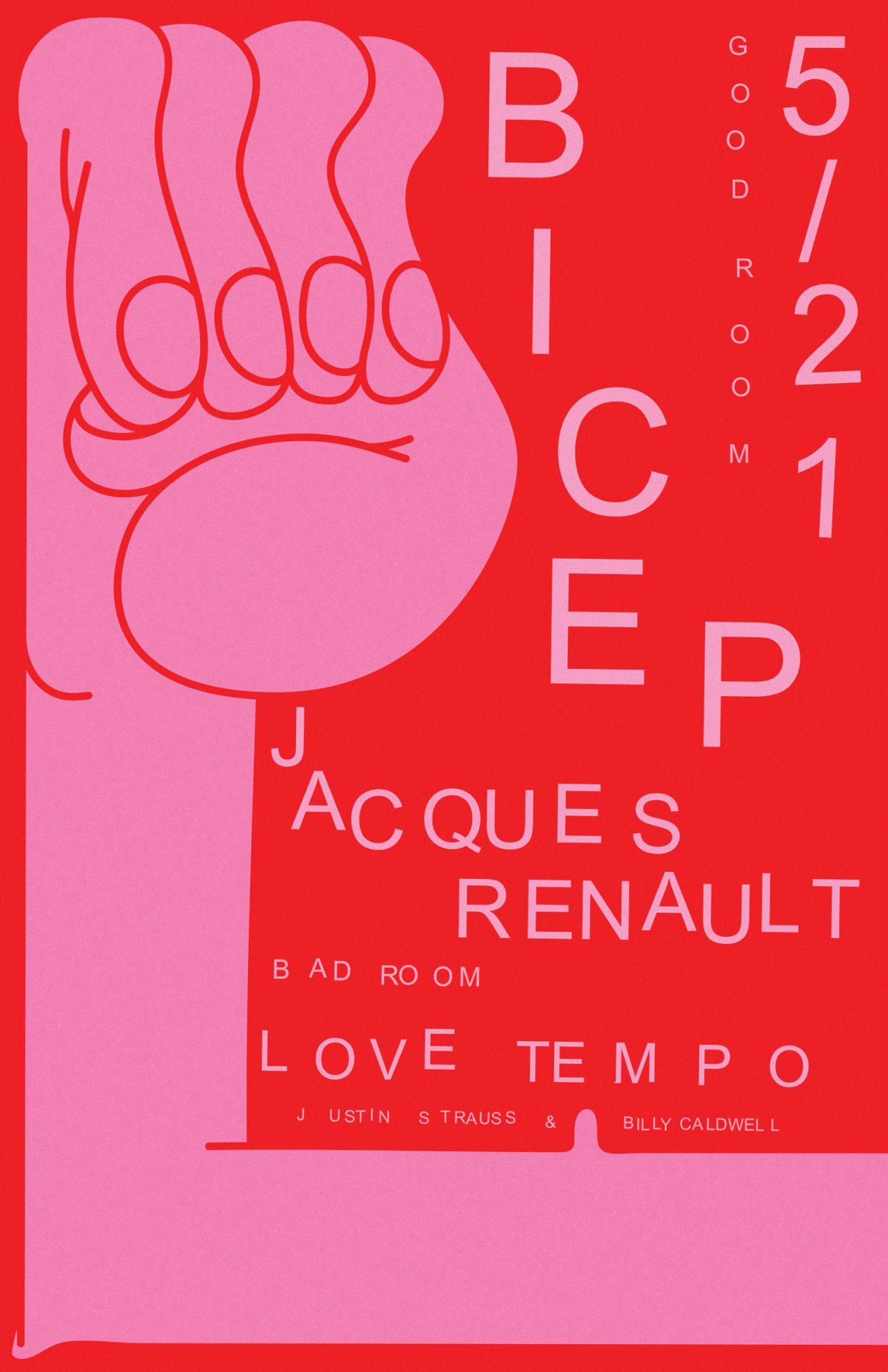 A good poster design - New Good Room Poster Braulio Amado