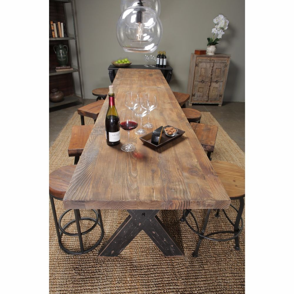 Strange Dining Gathering Table Oversized Large Wood Reclaimed Gmtry Best Dining Table And Chair Ideas Images Gmtryco