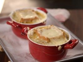 Light French Onion Soup : Recipes : Cooking Channel