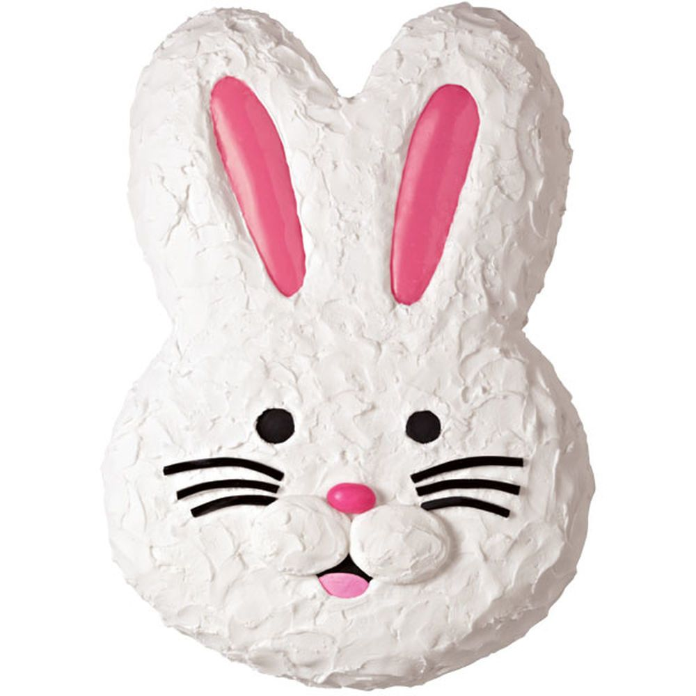 Bunny face cake easter bunny cake recipe bunny cake