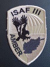 Polonia, en el aire; ISAF III;;;; Insignia Parche De Paracaidistas desierto; Nuevo