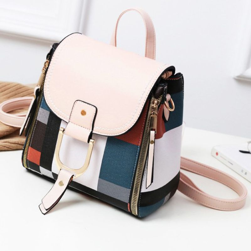 New Fashion Casual Girl Backpack Student Shoulders Bag