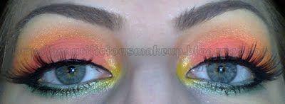 Dicas de maquiagens : Coral sorvete