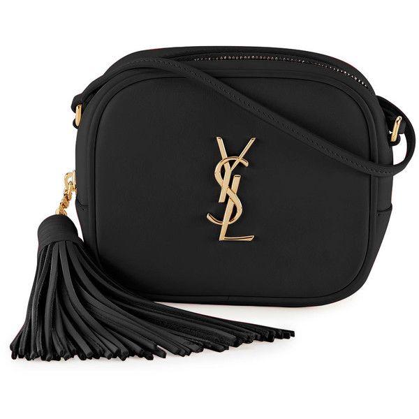 17d8eb26b4c Saint Laurent Monogram Blogger Crossbody Bag (13.296.185 IDR) ❤ liked on  Polyvore featuring bags, handbags, shoulder bags, ysl, bolsas, purses,  black, ...