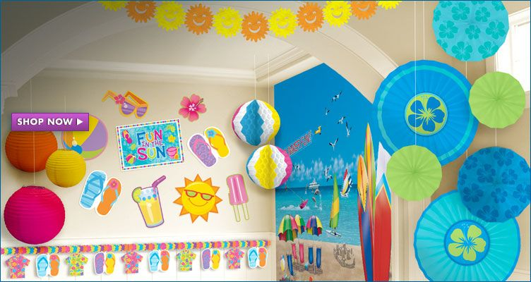 Summer Party Decorations Don 39 T Be Tardy For The Party