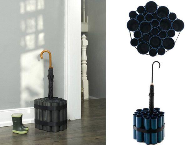 5 facili idee per creare un portaombrelli fai da te per l'ingresso - Rubriche - InfoArredo - Arredamento e Design per la tua casa