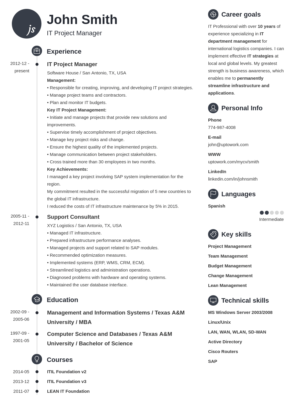 My resume 1 | Uptowork | Projects to try | Pinterest