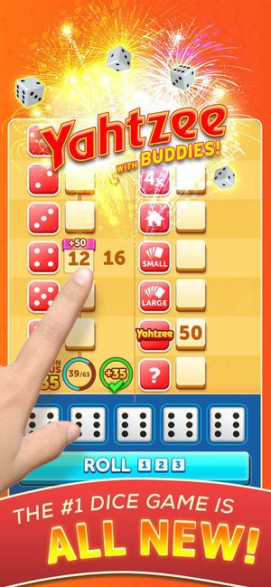 New Yahtzee® with Buddies Dice on the App Store (With