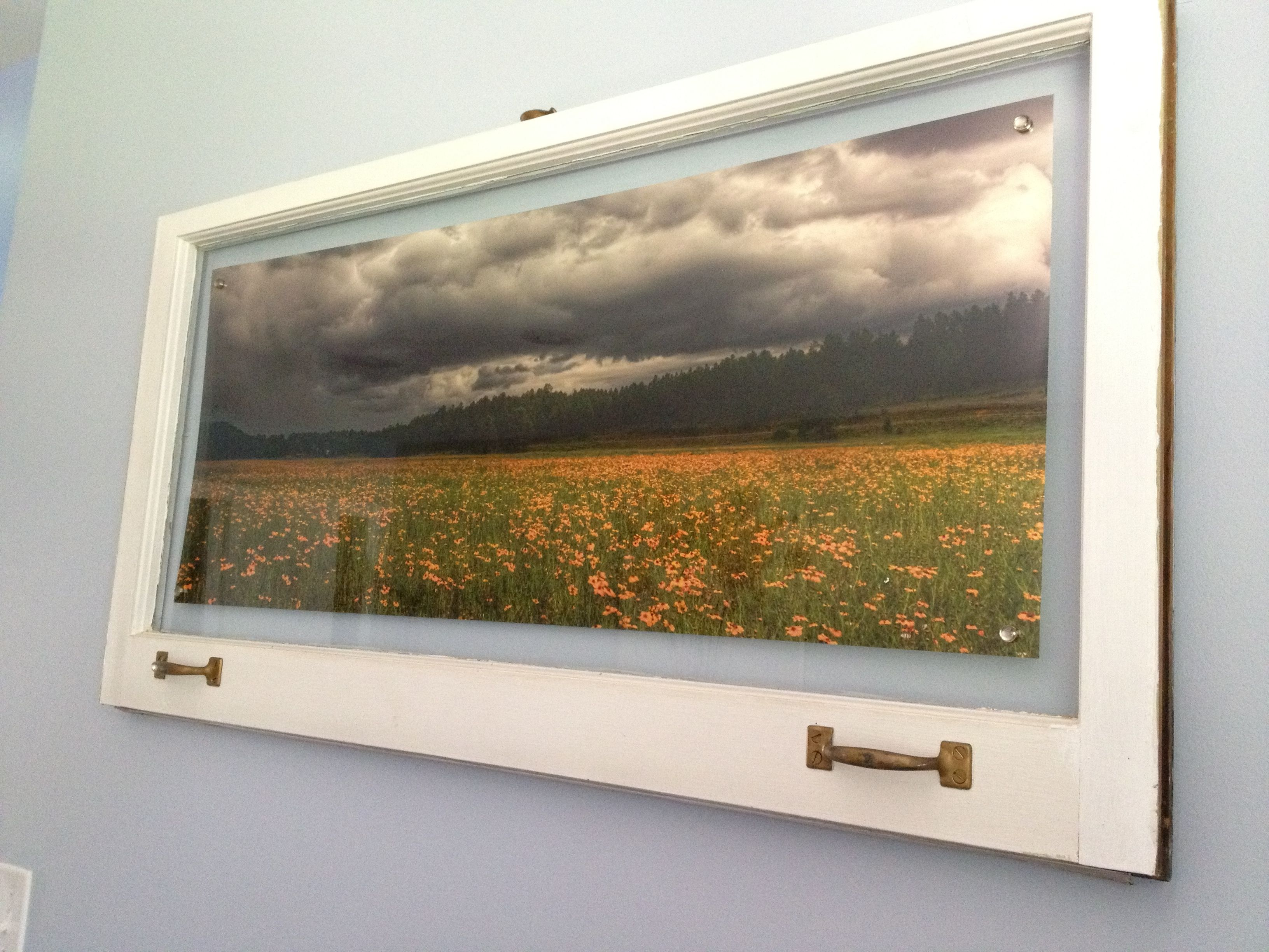 diy old windows into rustic picture frames - Diy Rustic Picture Frame