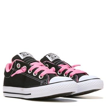 438e2312c2df Converse Chuck Taylor All Star Street Low Top Sneaker Black Pink