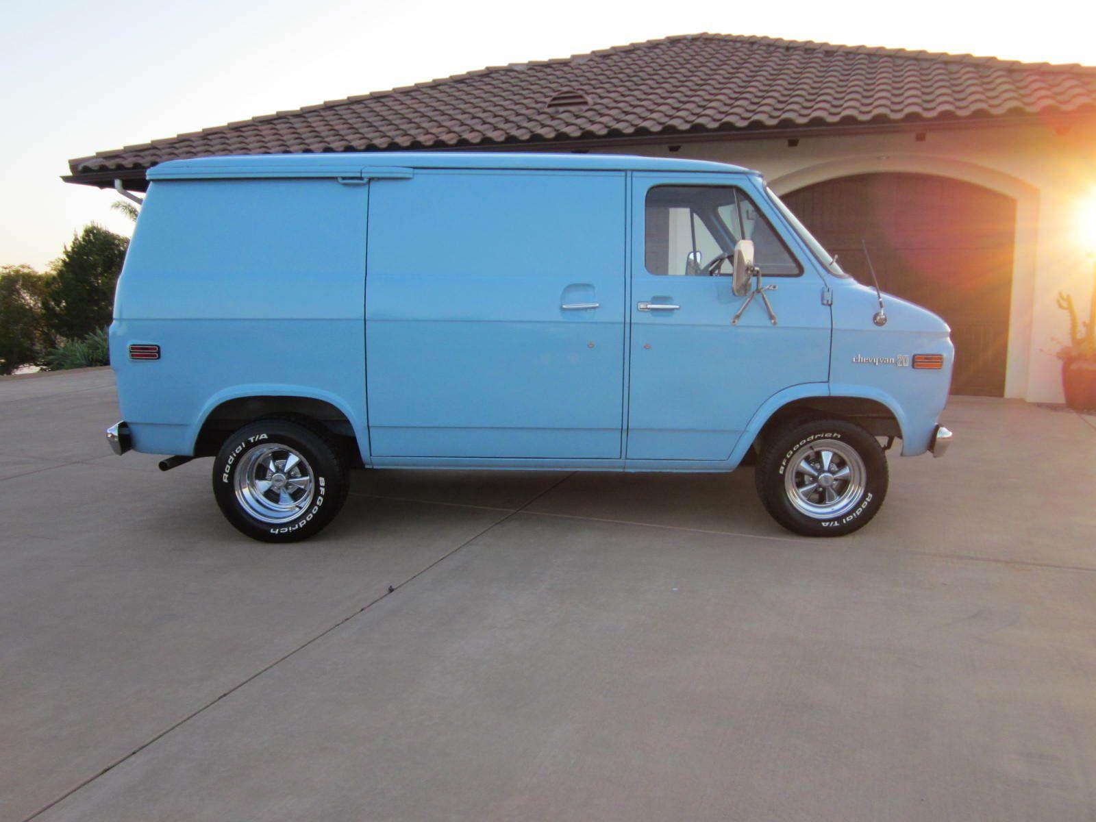 Chevrolet G20 Van Shorty Custom Vans Vans Chevrolet