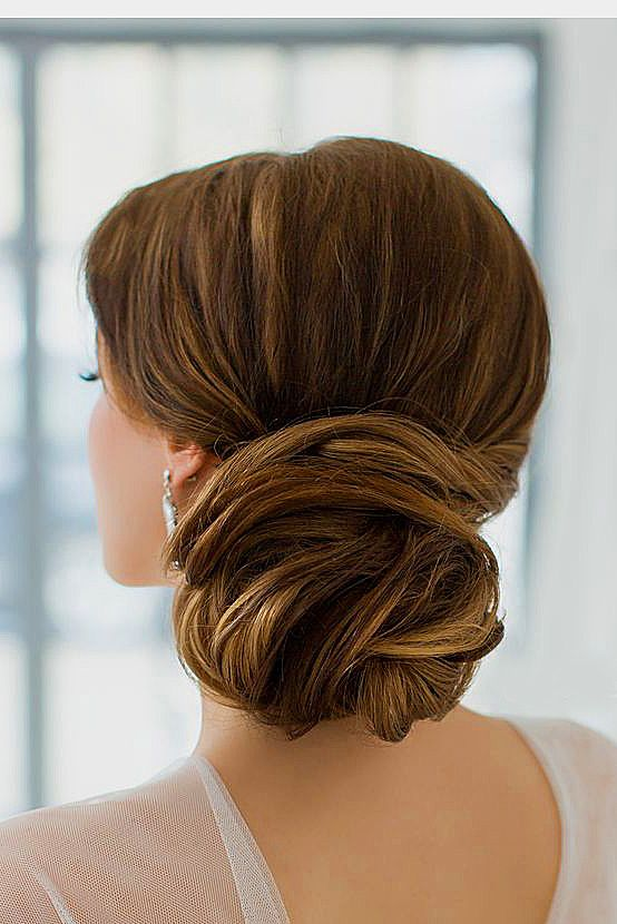 30 Lovely Wedding Bun Hairstyles Wedding Forward Hair Styles Wedding Hairstyles For Long Hair Long Hair Styles