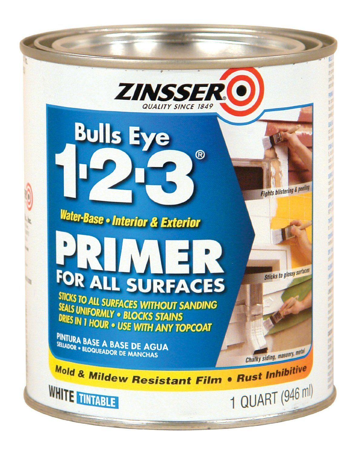 From Bevspaper And Review This A Review Of Zinsser Paint Primer