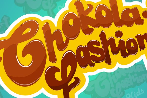 Chokola-t Fashion kids by Nicolas Barbosa, via Behance