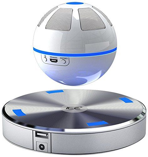 Floating bluetooth speaker! This fun floating speaker plays 360 degrees of sound, music and…