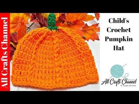 13afc76774b Autumn is here and it s Pumpkin Hat time - All Crafts Channel