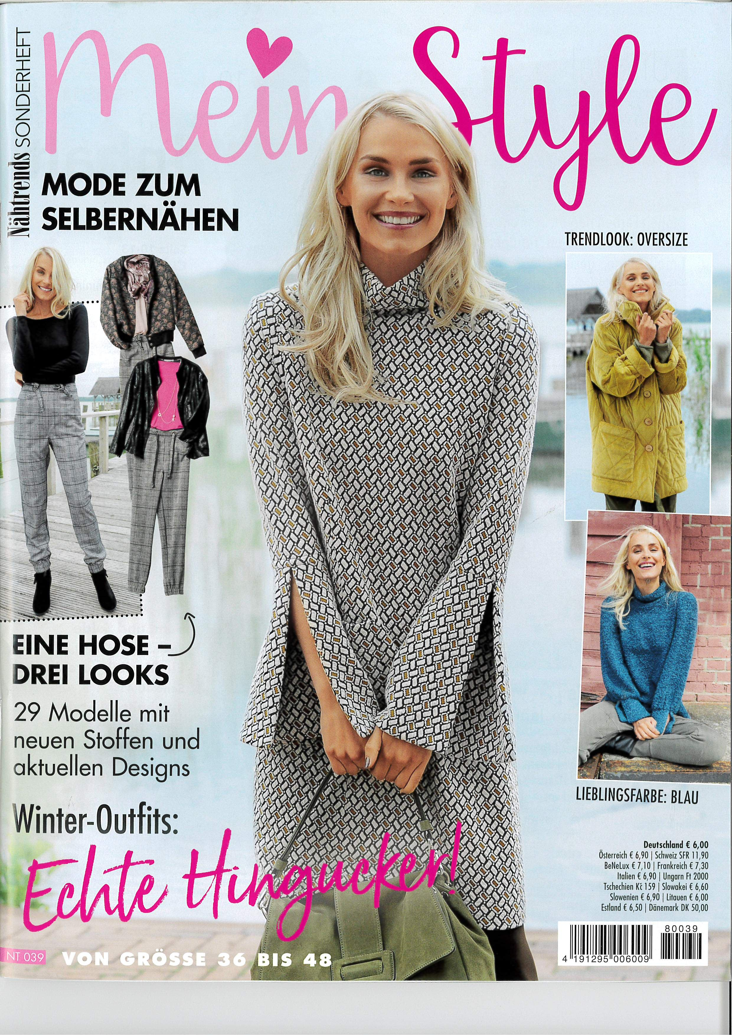 a965159be162 Nähtrends Sonderheft NT 039: Mein Style - Winter-Outfits Diese ...