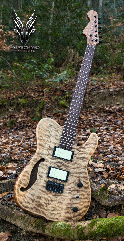 Hufschmid Guitars 20th anniversary creation ! #luthier #luthiers #lutherie #guitare #guitars #guitar #guitarplayer #guitarporn #guitargear #guitarworld #sevenstring #telecaster #fender #singlecut #humbuckers #humbucker #pickups #plectrums #plectrum