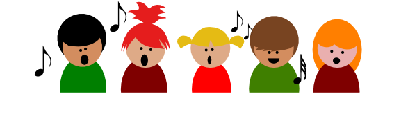 children singing christmas clip art children choir3 clip art rh pinterest com