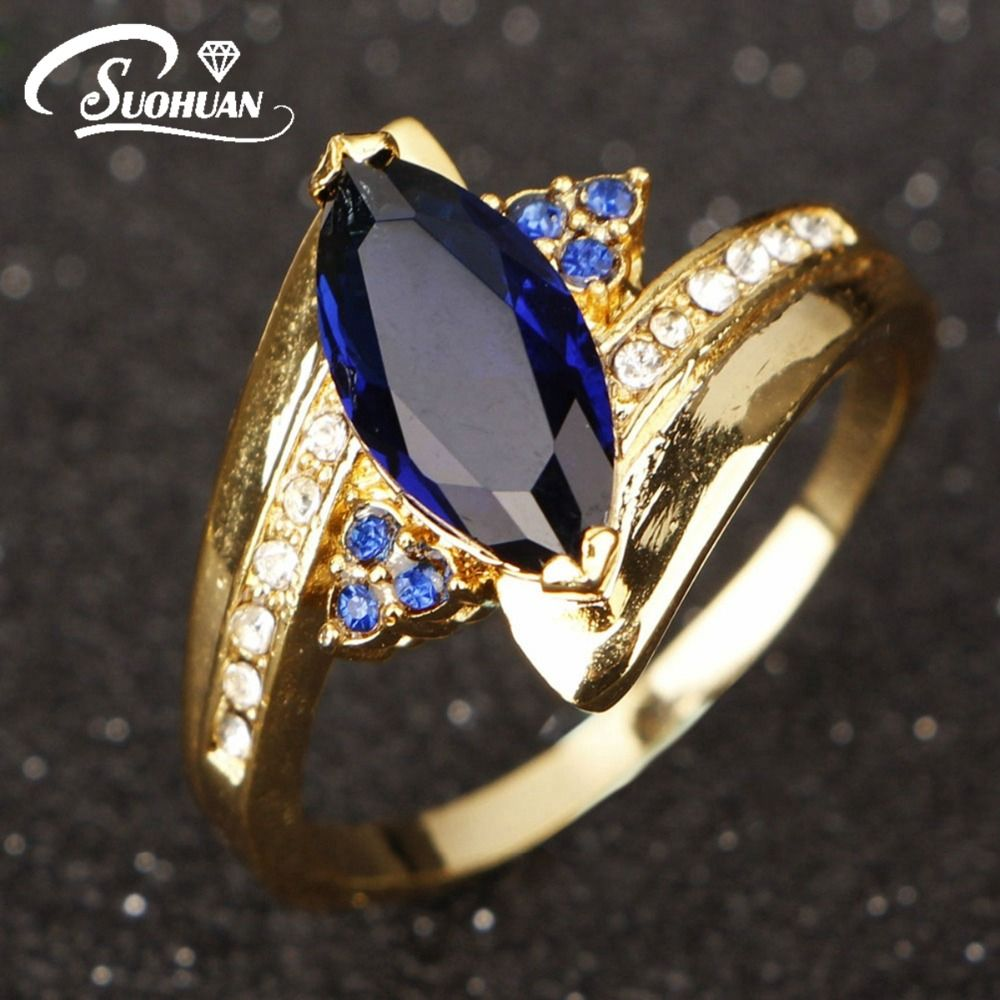 Cheap Rings For Women Blue Buy Quality Wedding Directly From China Suppliers Wholesale Hot Selling Female Jewelry