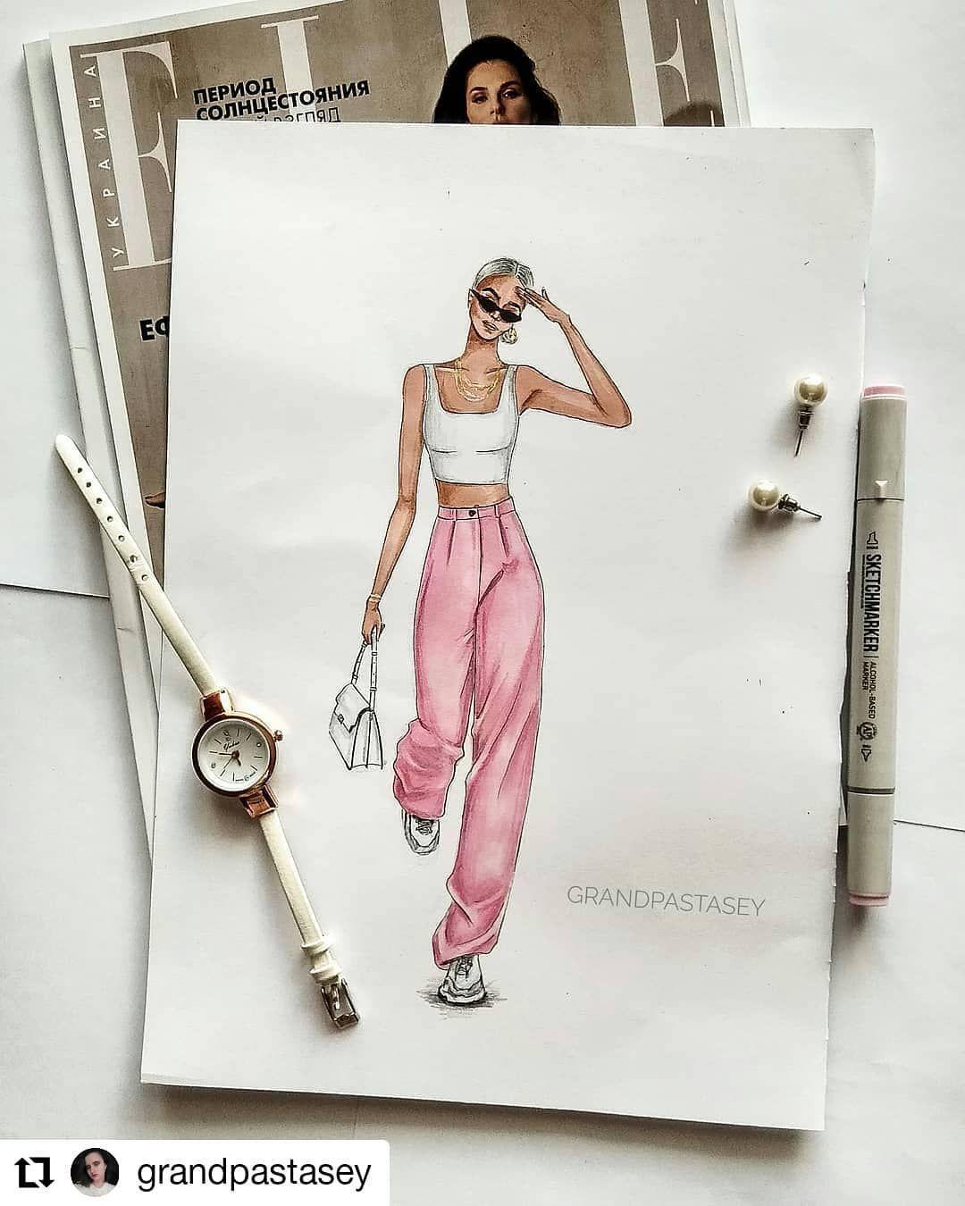 Photo of Fashion sketches 311874342947346233 –  #Repost @grandpastasey • • • • …
