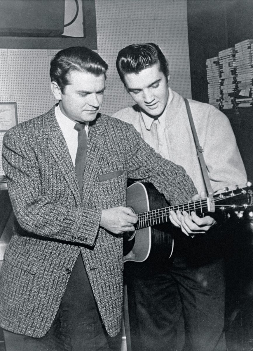 The Real History of Rock and Roll Sam phillips, Elvis