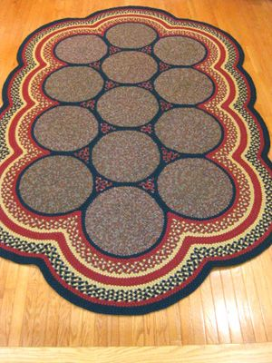 Braided Rugs Used To Be Just For The Kitchen Of Your Grandmother S House Then Diamond