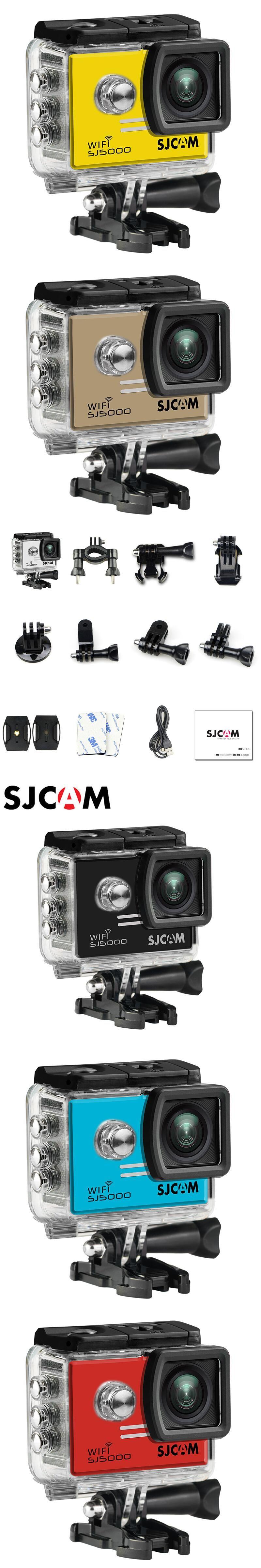 Sjcam Sj5000 Wifi Action Camera Sports Dv Hd 1080p 30m Waterproof Sportcam Non Cam Gopro Original Sj 5000 Sport