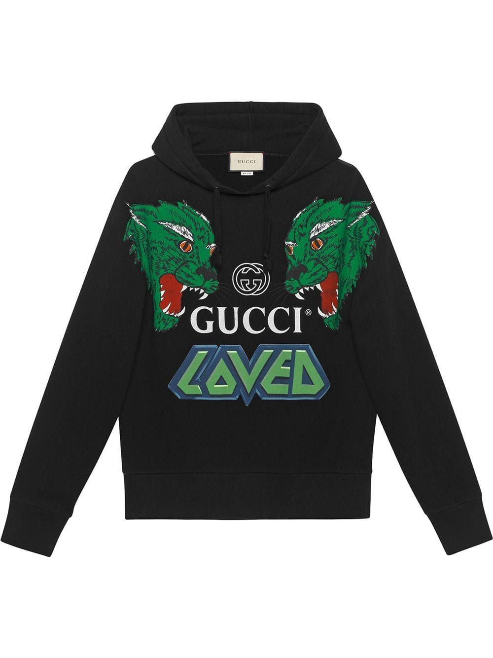 enjoy best price real quality wide range GUCCI GUCCI COTTON SWEATSHIRT WITH TIGERS - BLACK. #gucci ...