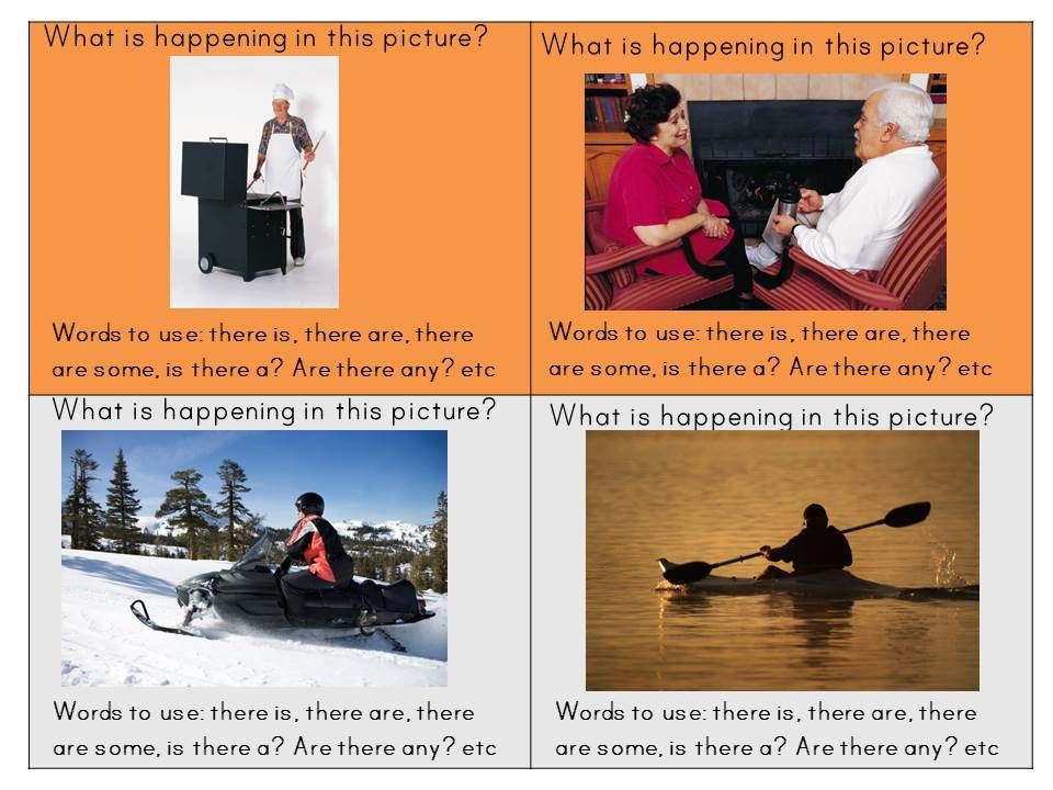 ESL speaking cards, describing a picture/incident. Helps ESL learners practice their speaking and encourages them to elaborate on their answers. ESL World $