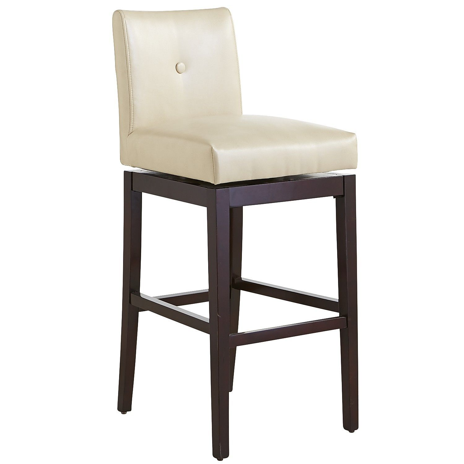 Mattie Low Back Swivel Bar Stool Smoke Has The Color Frame And