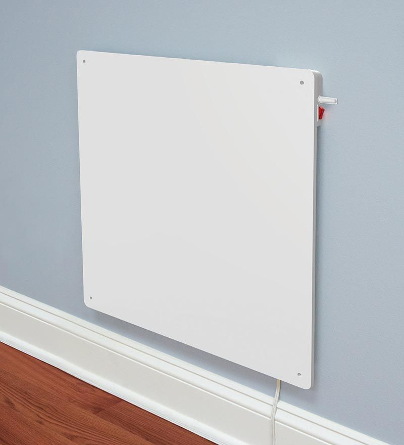 Eco Friendly Wall Mounted Heater Uses 70 Less Energy Than