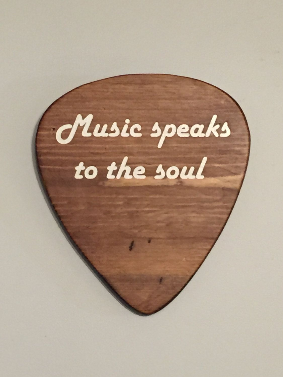 Music Wall Decor Rustic Wall Decor Music Room Decor Guitar Pick Wall Hanging Guitar Pick Music Room Sign Wooden Pick Pallet Wood Music Wall Decor Music Room Decor Music Themed Bedroom
