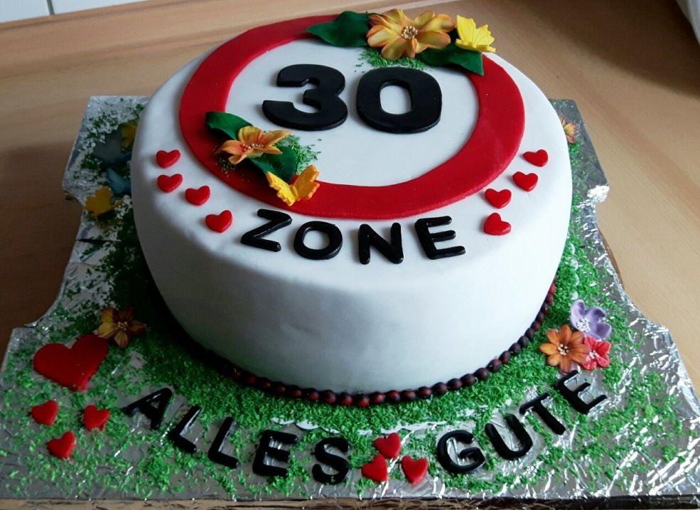 Geburtstagstorte 30er Meine Motivtorten Pinterest Geburt