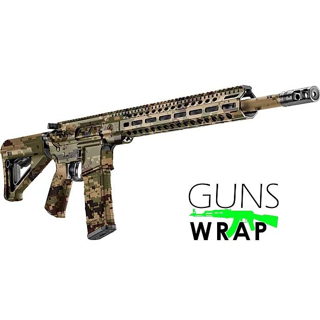 Pin On Ar 15 M4 Camo Gun Wrap Rifle Skins